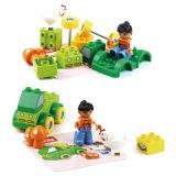 Le camion éducatif de poule du jouet DIY bloque le jouet