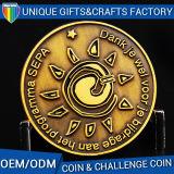 L'ordine dell'OEM della fabbrica della Cina per il distintivo tedesco conia il metallo