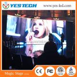 Pantalla del fondo de etapa del diseño moderno (P4.8mm al aire libre) LED para los acontecimientos