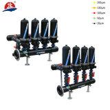 Sistema del filtro a dischi di trattamento delle acque