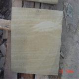 حجر رمليّ طبيعيّ صفراء خشبيّة لأنّ ترقية عمليّة بيع