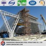 Alta planta de la estructura de acero de la subida