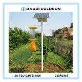 شمسيّ يزوّد [رشرجبل] تلوّث مجّانا [بست كنترول] مصباح إستعمال في مزرعة بستان