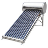 Steel di acciaio inossidabile Solar Panel Water Heater 100liter