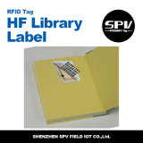 Freqüência ultraelevada Monza da etiqueta 50X50mm da biblioteca de RFID 4 ISO18000-6c
