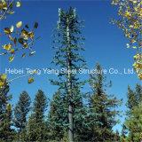 단청 소나무에 의하여 위장되는 셀 방식 Aritificial 나무 안테나 탑