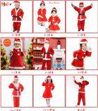 Vêtements de Noël de Santa de cadeau de Noël