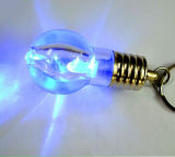 Nette LED Flashlight Bulb Keychain mit Logo Printed (4058)