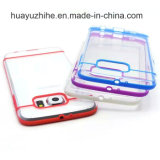 El último Design Transparent Color TPU con la PC Mobile Cell Phone Caso