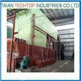 Charbon de grille/bois à chaînes automatique horizontal/chaudière à vapeur mise le feu par biomasse
