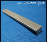 電流を通されたステンレス鋼の機械化の部品