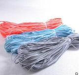 Gekleurde weerspiegelende door buizen leidende en bindende band