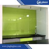 Vidro pintado suportado de brilho colorido para a mobília