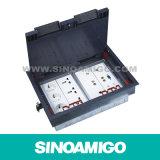 Fußboden-Kasten/Fußboden-Kontaktbuchse/Fußboden-Anschluss-Kasten