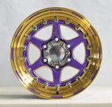 Горячее продавая колесо сплава Stong 4X4 пурпуровое
