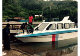 Aqualand 25FT 7.6m Water Taxi Cabin Boat Ferryboat (760)