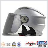 Холодный Shining желтый половинный шлем самоката стороны (HF315)
