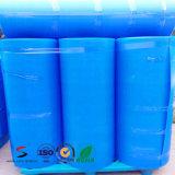 El suelo plástico acanalado del material de construcción protege la hoja