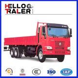 6X4 Vrachtwagen van de Lading van de Vrachtwagen van de Dieselmotor HOWO 6X4 de Op zwaar werk berekende