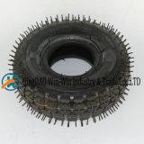 4.10/3.50-4 압축 공기를 넣은 타이어를 가진 고무 바퀴
