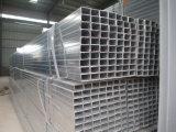 Tubi d'acciaio quadrati galvanizzati/sezione vuota del tubo