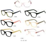 Montatura per occhiali ottica dell'acetato delle azione del commercio all'ingrosso del nuovo modello F169