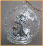 Sfera di vetro di natale libero per la decorazione di natale