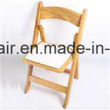 Bunter hölzerner Hochzeits-Falz-Stuhl für Miete