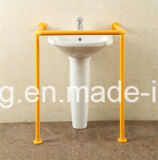 Нейлон вспомогательного оборудования ванной комнаты или штанга самосхвата нержавеющей стали регулируемая