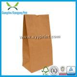 Kundenspezifischer Packpapier-Beutel Größebrown-Für Nahrung