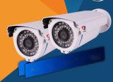 低いルクスの機密保護IRのドームネットワークIPのカメラCCTVのカメラを収容する金属