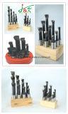 6PCS vastgestelde Carbide Getipte Boorstaven Van uitstekende kwaliteit door Staal