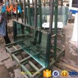 Bevlekte/Gekleurde Aangemaakte Countertops van de Badkamers van het Glas