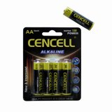 1.5Vアルカリ乾電池の高品質AAのサイズ
