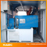 Containerized Pipe Fabrication Machine and System