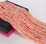 자연적인 느슨한 비취 물가 크기 2mm 3mm 도매 분홍색 Aventurine 본래 비취 돌