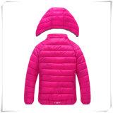 Ультра светлого спуска куртки куртка 608 с капюшоном 90% белой утки длины людей куртки вниз регулярно портативная вниз
