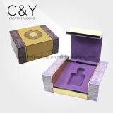Perfume caja de empaquetado Grado superior hecha a mano de madera lacada Proveedor