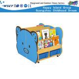 Scaffale di legno Hc-3704 dei bambini dell'aula del personaggio dei cartoni animati