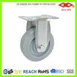 rodízio de borracha de giro da roda de 125mm (P120-34FK100X32)