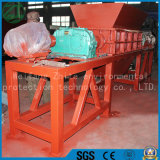 Plastica residua/frantoio biassiale residuo della gomma/legno/metallo