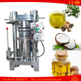 Petróleo de cacahuete del coco de Pumplin de la nuez de la almendra de la prensa hidráulica que hace la máquina
