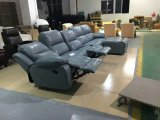 [ل] شكل جلد [ركلينر] أريكة أثاث لازم, حديثة يعيش غرفة أثاث لازم ([غ17324])