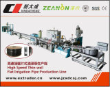 Máquina de fabricação de tubos de irrigação por gotejamento