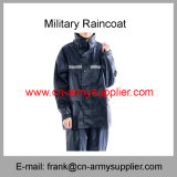 Het regenjas-Leger van de veiligheid regenjas-Politie regenjas-Marine Blauwe Militaire Regenjas