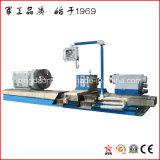 Torno horizontal grande resistente del CNC para el eje de aluminio de torneado (CG61160)