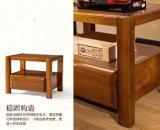 Armário de madeira maciço com armário de estilo moderno (M-X2073)