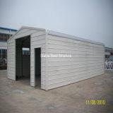Edificio prefabricado del garage de la estructura de acero con alta calidad