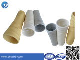 Tipo fieltro antiestático de la mezcla de la tela del filtro de la aguja del filtro del poliester