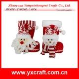 Regalo del muñeco de nieve de Santa del regalo de la Navidad de la decoración del tema de la Navidad de la decoración de la Navidad (ZY14Y323-1-2-3)